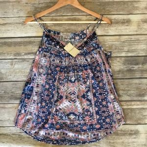 NWT Lucky 🍀 Brand tank top blouse shirt